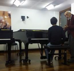 Con el maestro Bashkirov en 2013_04