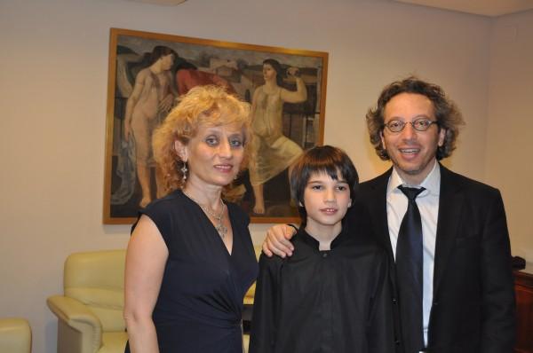 Con Ruzan Badalian y George Pehlivanian