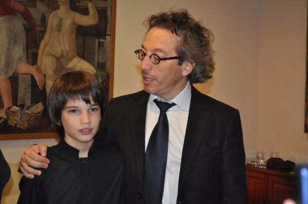 Matteo con Georg Pehlivanian