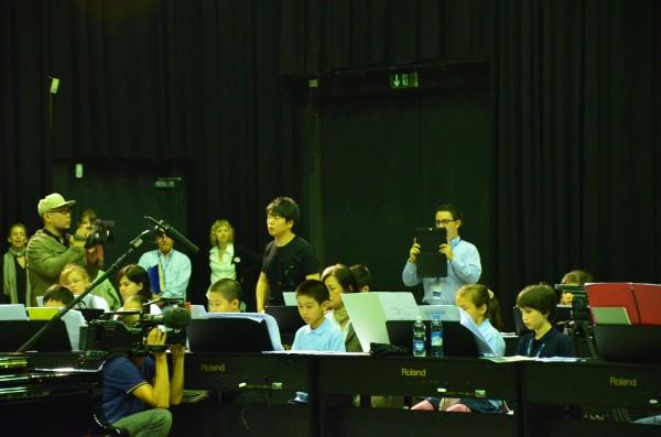 Matteo con Lang Lang en Berlín