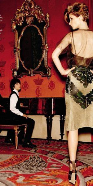 Con Leonel Morales Jr. y Bo Don para Vogue España 2013