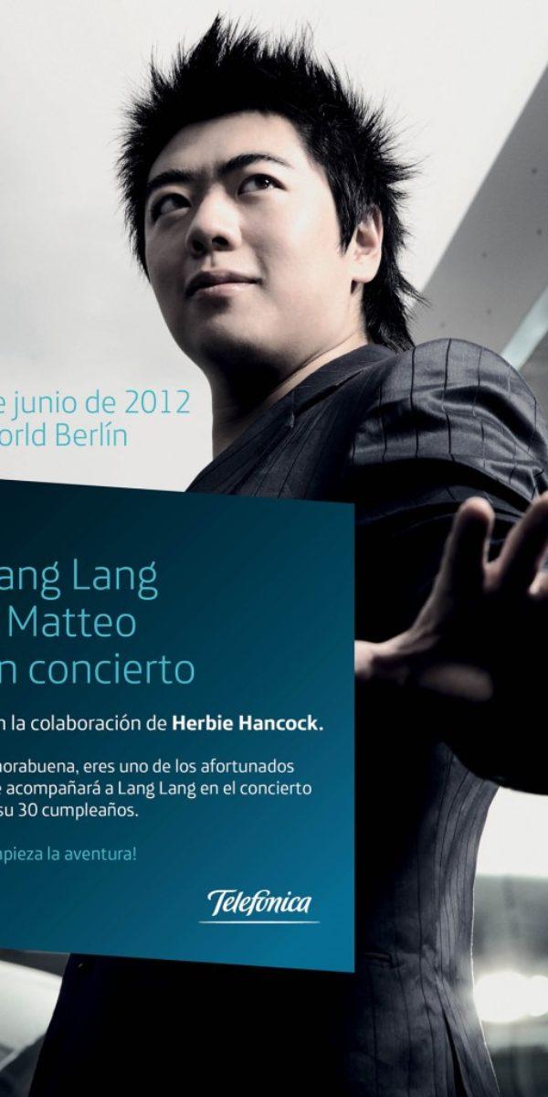 Matteo y Lang Lang en concierto